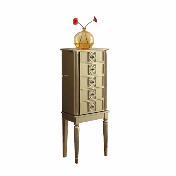 Tammy Gold Jewelry Armoire