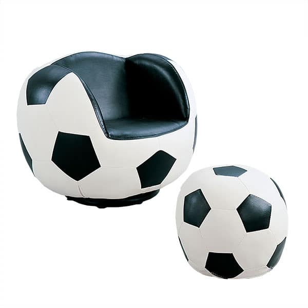 All Star Soccer Two-Piece Chair and Ottoman Set