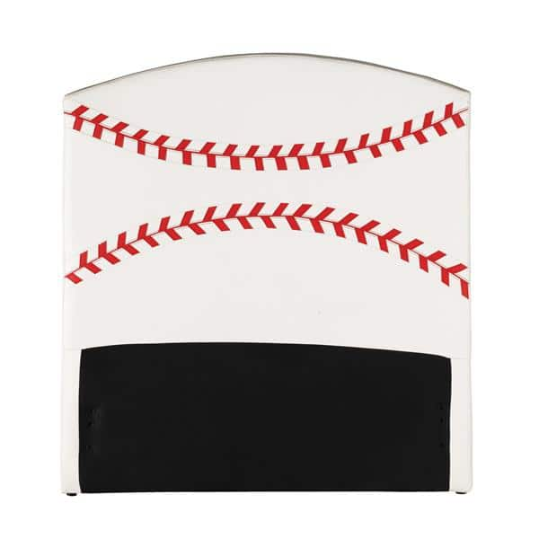 All Star Baseball Twin Headboard