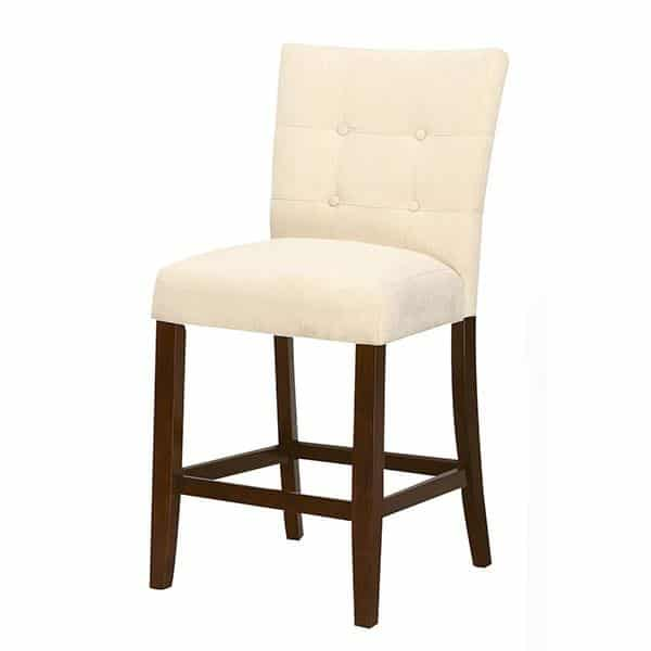 Baldwin Two-Piece Beige Counter Height Chair Set