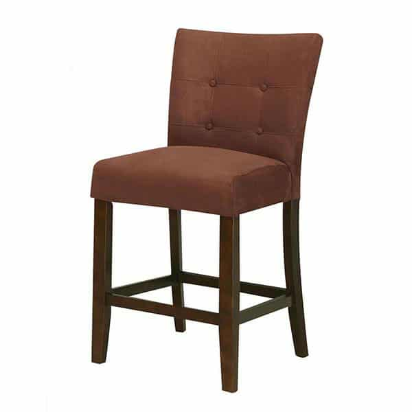 Baldwin Two-Piece Chocolate Counter Height Chair Set