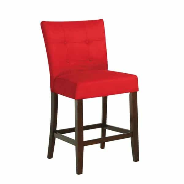 Baldwin Two-Piece Red Counter Height Chair Set