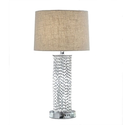 Britt Chrome Table Lamp