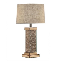 Britt Rose Gold Table Lamp