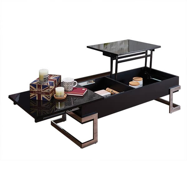 Calnan Black Lift Top Coffee Table
