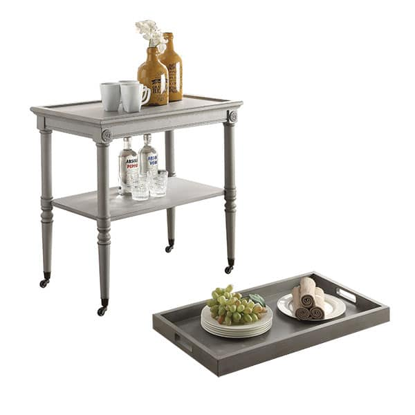 Frisco Antique Slate Tray Table