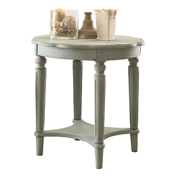 Fordon Antique Green End Table