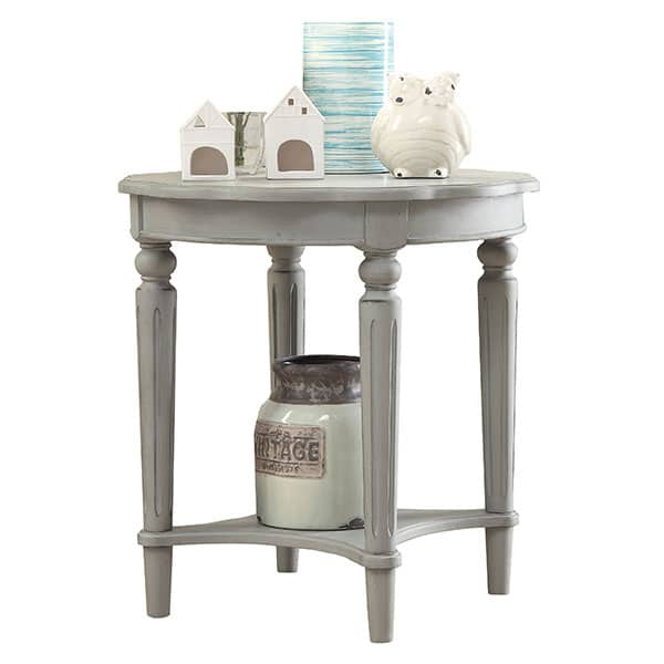 Fordon Antique Slate End Table