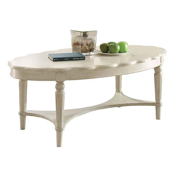 Fordon Antique White Coffee Table