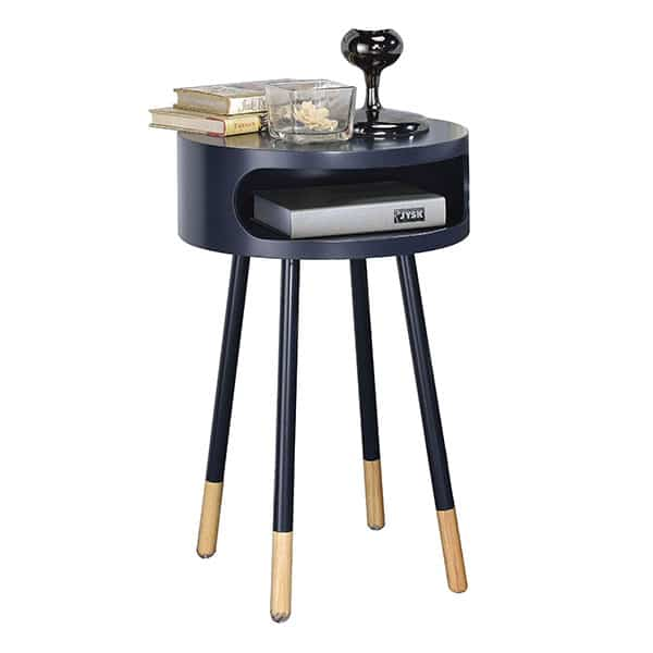 Sonria Black End Table