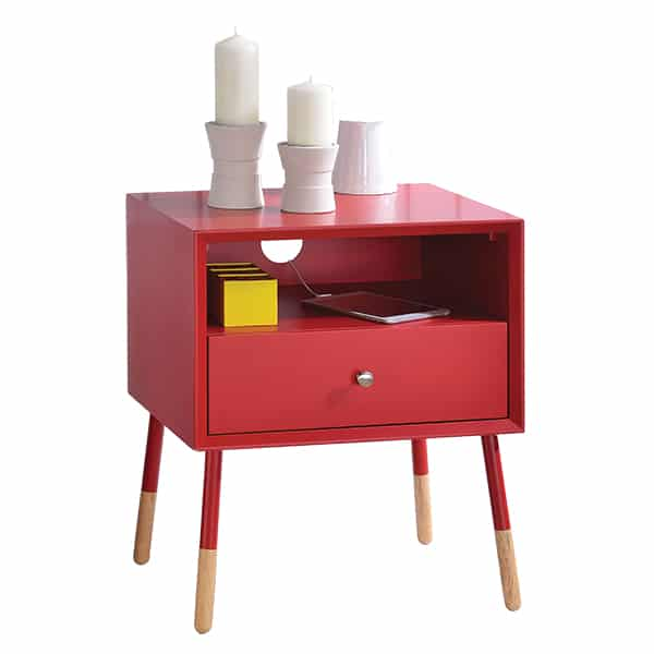 Sonria II Red End Table