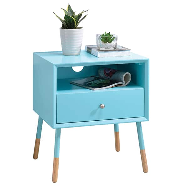 Sonria II Light Blue End Table