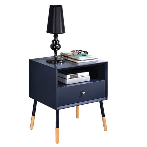 Sonria II Black End Table