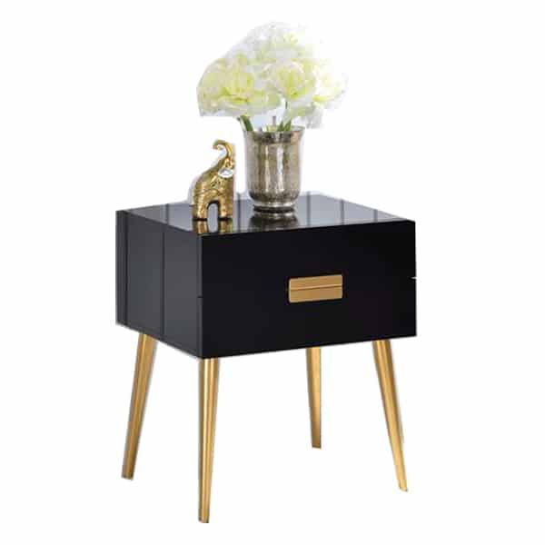 Denvor Black End Table