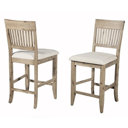Aspen Pub Chair Set of Two