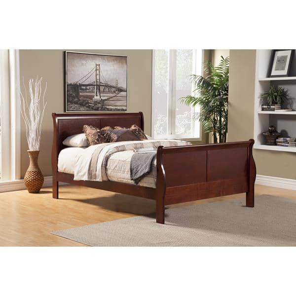 Louis Philippe II California King Bed