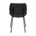 Quest Charcoal Modern Dining Accent Chair - ARL1150