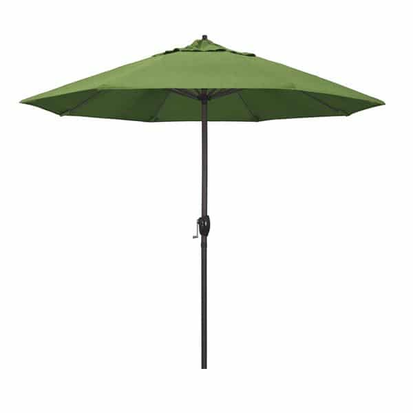 9 Casa Series Patio Umbrella  Sunbrella   Spectrum Cilantro Fabric