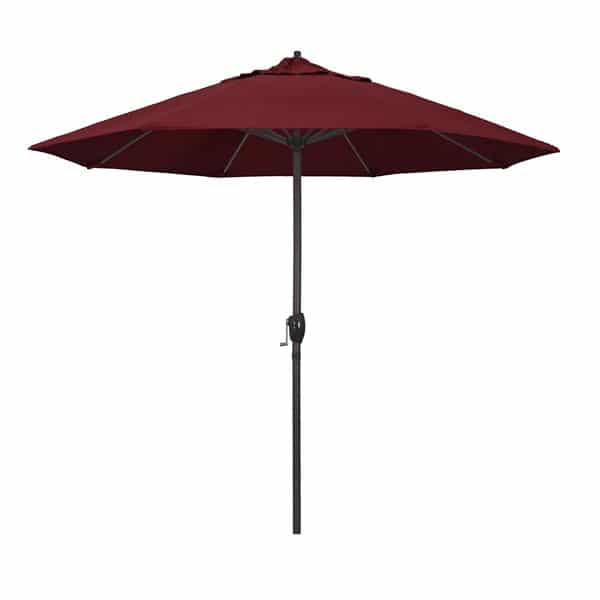 9 Casa Series Patio Umbrella  Sunbrella   Spectrum Ruby Fabric