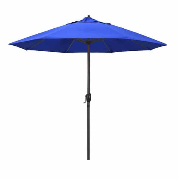 9 Casa Series Patio Umbrella  Sunbrella   Pacific Blue Fabric