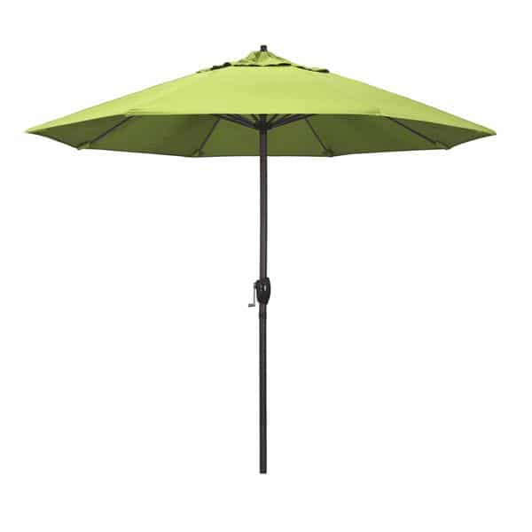 9 Casa Series Patio Umbrella  Sunbrella   Parrot Fabric