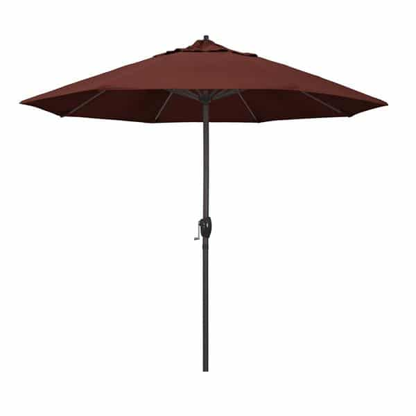 9 Casa Series Patio Umbrella  Sunbrella   Henna Fabric