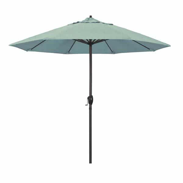 9 Casa Series Patio Umbrella  Sunbrella   Spa Fabric