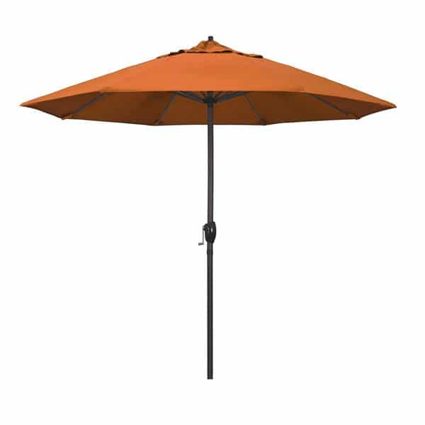 9 Casa Series Patio Umbrella  Sunbrella   Tuscan Fabric