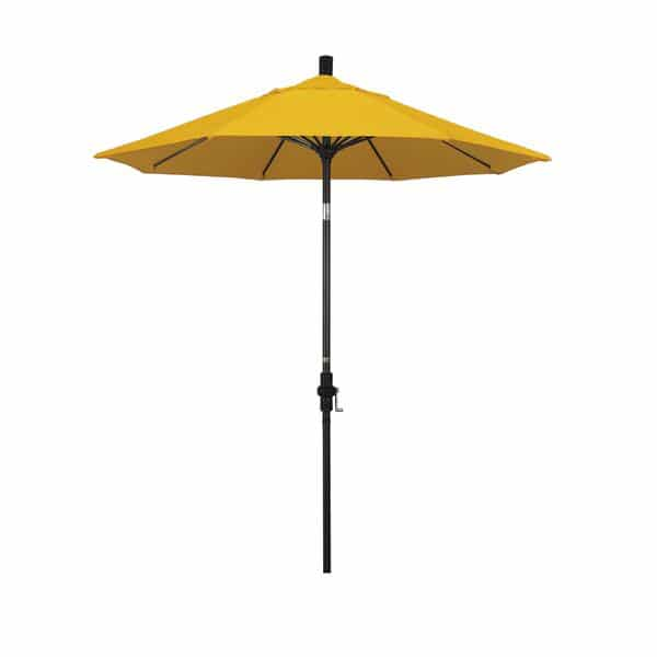 7.5 Sun Master Series Patio Umbrella With Pacifica Yellow Fabric