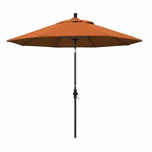 9 Sun Master Series Patio Umbrella With Pacifica Tuscan Fabric