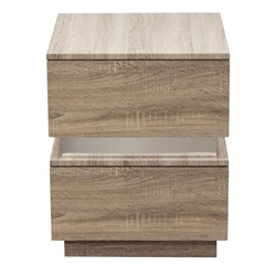 Elle Two-Drawer Accent Table in Java