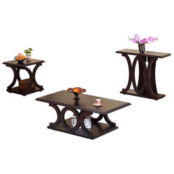 Circles Coffee Table and End Table Set