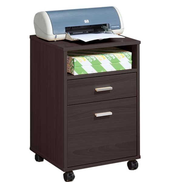 Three Layer File Cabinet with Caster
