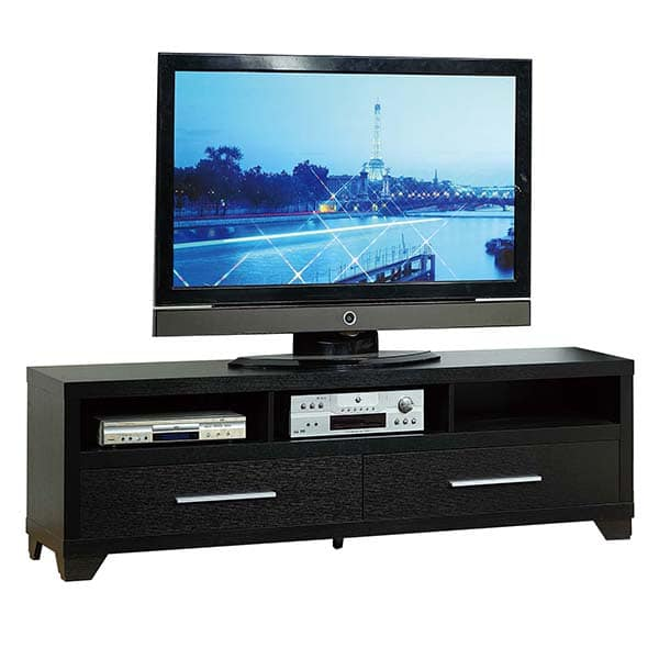 Black Edgy TV Stand