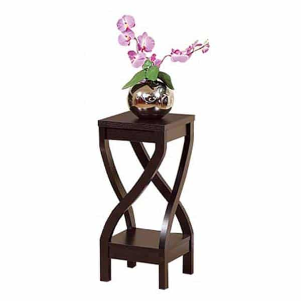 Id Usa Curvaceous 26 Inch High Plant Stand Idu1193