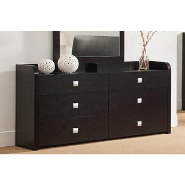 Red Cocoa 6 Drawer Chest