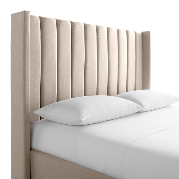 Malouf Blackwell Designer Bed King Oat