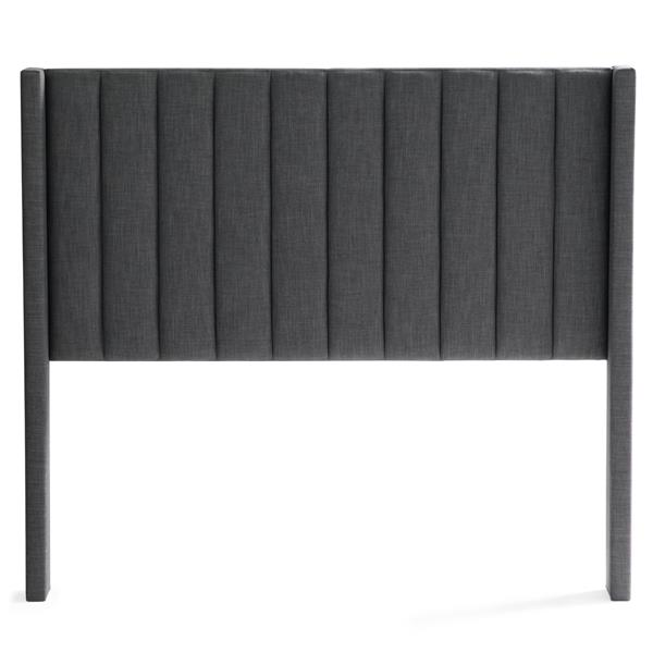 Blackwell Headboard Queen Charcoal