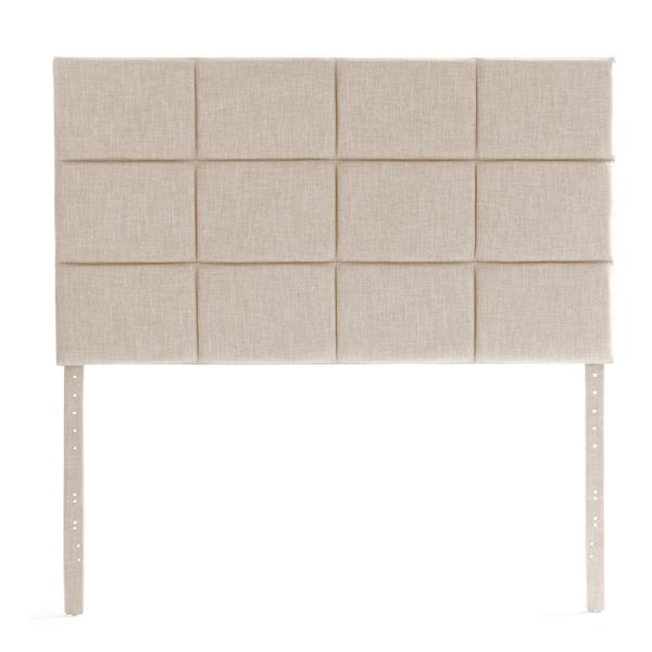 Designer Scoresby Headboard Queen Oats