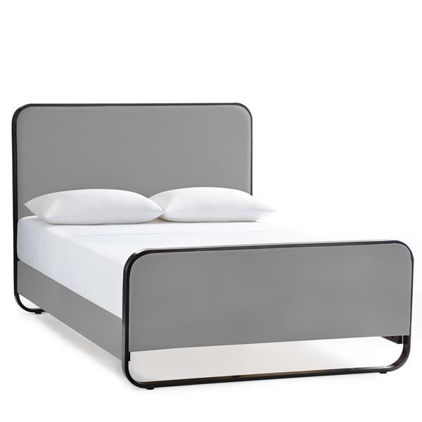 Godfrey Designer Bed King Stone