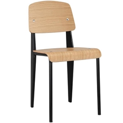Cabin Dining Side Chair - Natural Black