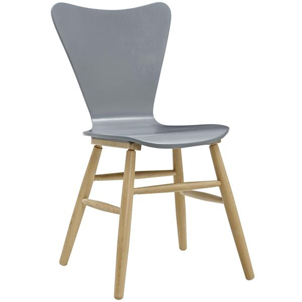 Cascade Wood Dining Chair - Gray