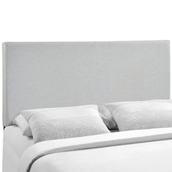 Region Queen Upholstered Headboard - Sky Gray