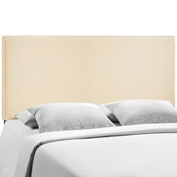 Region Queen Upholstered Headboard - Ivory