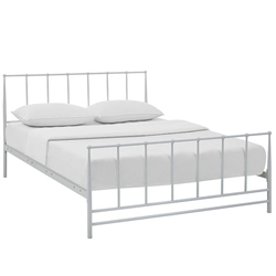 Estate King Bed - White