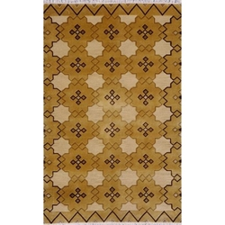 Bikaner Hand Knotted Rug 5 x 8