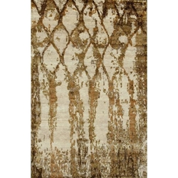 Cachar Hand Knotted Rug 5 x 8