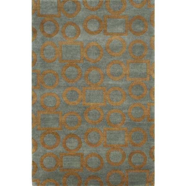 Chandel Hand Knotted Rug 5 x 8