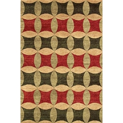 Chandigarh Hand Knotted Rug 5 x 8