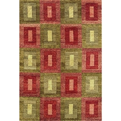 Chandrapur Hand Knotted Rug 5 x 8